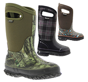 Winter Boots by Bogs for Kids Available at The Great Outdoors in Newport, Morrisville and Enosburg Falls, VT.