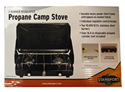 Camp Stove Available at The Great Outdoors in Newport, Morrisville and Enosburg Falls, VT.