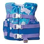 Life Vests for Toddlers to Adults from O'Brien Watersports  Available at The Great Outdoors in Newport, Morrisville and Enosburg Falls, VT.