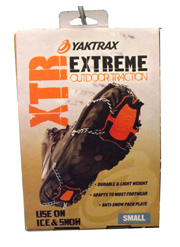 Yaktrax Foot Traction for Ice and Snow Availaable at The Great Outdoors in Newport, Morrisville and Enosburg Falls, VT.